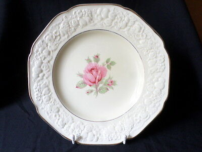 Crown Ducal. Florentine. (Rose Pattern). Dinner Plate. Made In England.