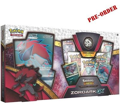 POKEMON TCG Shining Legends Special Collection Cards - Zoroark-GX - PREORDER