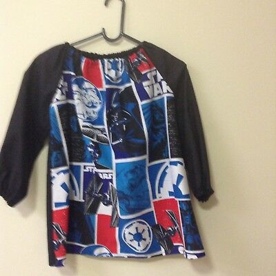 Kids Star Wars COTTON  Art Smock Boys 4-7