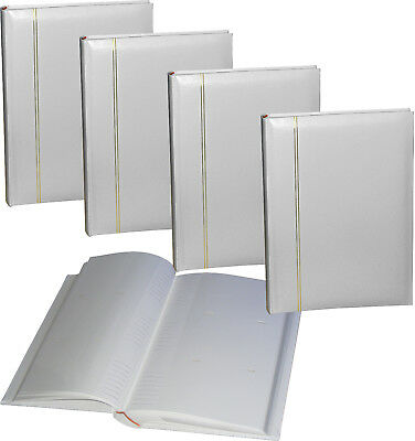 3 x PhotoCraft Zanzibar white wedding 6x4 slip-in 300 photo albums * THREE PACK