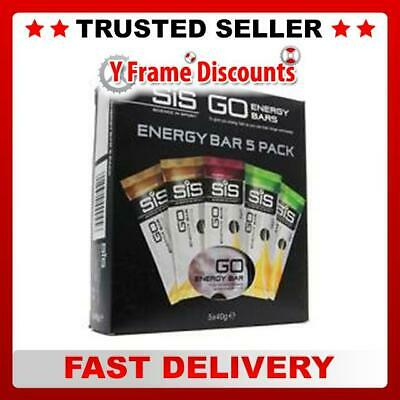 SIS Go Mini Energy Bar 40g Mixed Box of 5 Bars (1 Box)