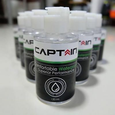 Captain Wax Coated glass Automotive Clear Coats 130 ml. Hydrophobic Glass New