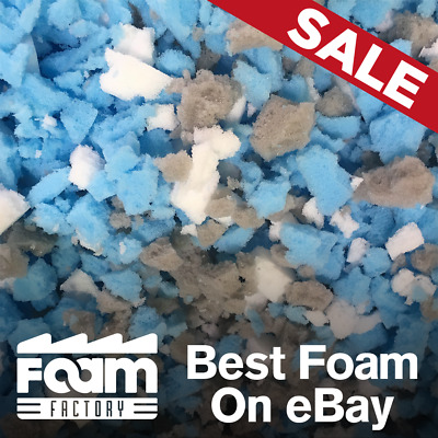 Foam Crumb For: Stuffing Cushions, Pillows, Beanbags, Pet Bed, Packaging & More