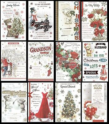 LARGE QUALITY CHRISTMAS CARDS With 8 Page Insert and Fabulous Verses L@@K