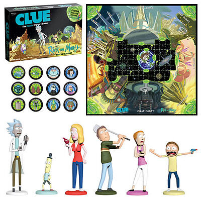 s Boardgames - Clue - Rick And Morty