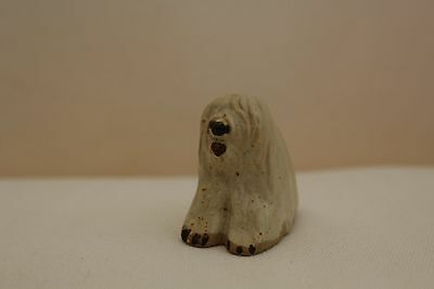 Vintage Tremar Pottery Sheep Dog Figurine - 'Little Dogs' Collection - Unboxed