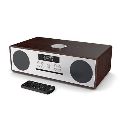 Oakington DAB / DAB+ Digital FM Radio Bluetooth Wireless CD Player Hi-Fi Stereo