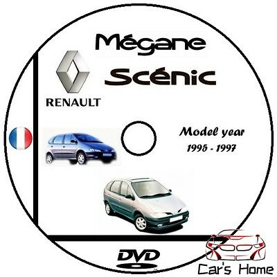 MANUALE OFFICINA RENAULT  MEGANE SCENIC my 1995-1997 WORKSHOP MANUAL DVD