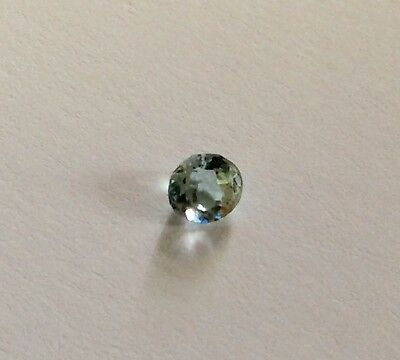 Aquamarine Gemstone 4mm x 3mm deep. Natural Loose Gemstone.