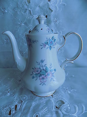 Colclough Bone China Coppelia Coffee Pot