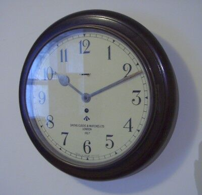 smiths military wall clock 1957 watch