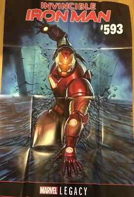 Invincible Iron Man #593 Poster (2017) Marvel