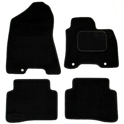Kia Sportage MK4 2016 onwards Tailored Carpet Car Mats Black 4pcs Floor Set