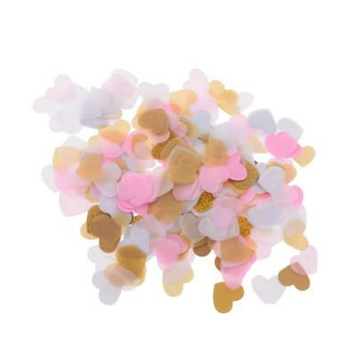 1400pcs Paper Love Heart Sprinkle Scatters Balloon Confetti Wedding Decor
