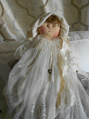 """LITTLE SOULS Doll Gretchen Wilson """"sweet Pea"""" with TAG signed"""
