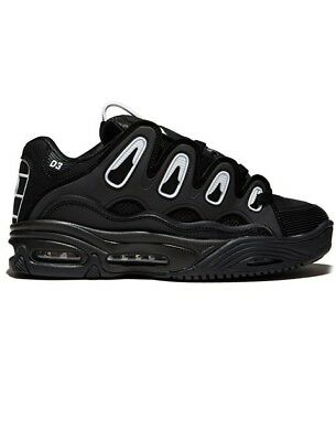 Osiris D3 2001 Black White Black