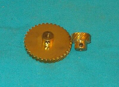 meccano 1 set of helical gears, 211a/b
