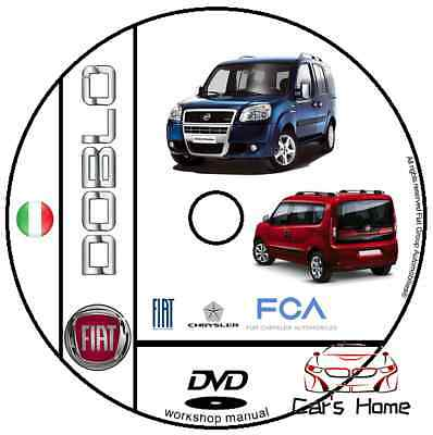 Manuale Officina Fiat Doblo' My 00 10 Workshop Manual Service E-Learn Dte