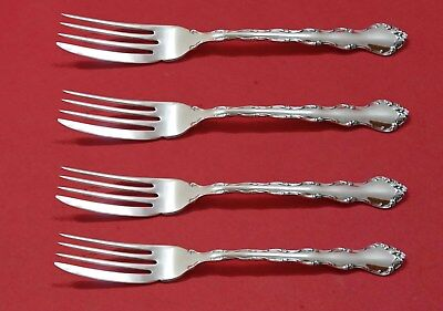 """Tara by Reed and Barton Sterling Silver Fish Fork Set 4pc AS FH Custom 7 3/8"""""""