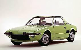Manuale Officina Fiat X1/9 Bertone My 1974 - 1980 Workshop Manual Service Email