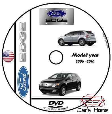 MANUALE OFFICINA FORD EDGE my 2006 - 2010 WORKSHOP MANUAL SERVICE DVD