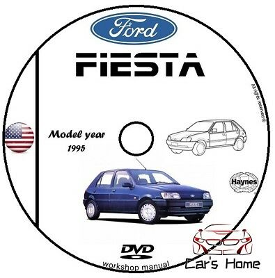 Manuale Officina Ford Fiesta My 1995 Workshop Manual Service Cd Dvd