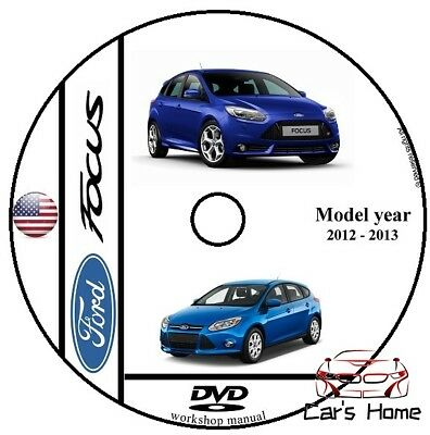 MANUALE OFFICINA FORD FOCUS my 2012 - 2013 WORKSHOP MANUAL SERVICE DVD