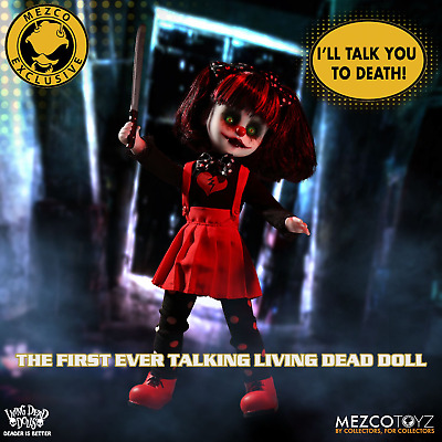 Living Dead Doll Resurrection Cuddles with Sound By Mezco SDCC Exclusive (figure