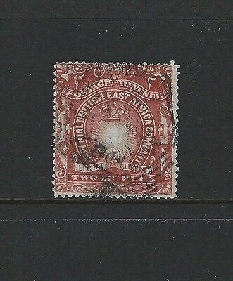 BRITISH EAST AFRICA - #27 - 2r LIGHT & LIBERTY (1890-1894)