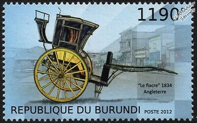1834 Le Fiacre Carriage (Taxi Cab) Vehicle Stamp