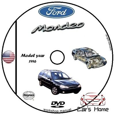 Manuale Officina Ford Mondeo My 1996 Workshop Manual Service Cd Dvd