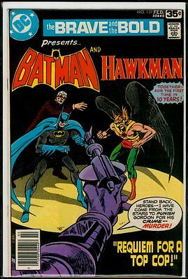 DC Comics The BRAVE And The BOLD #139 BATMAN And Hawkman NM- 9.2