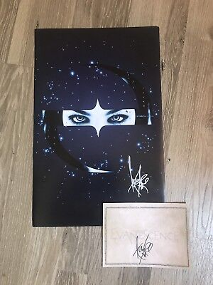Evanescence Signed Ltd. Edition Poster