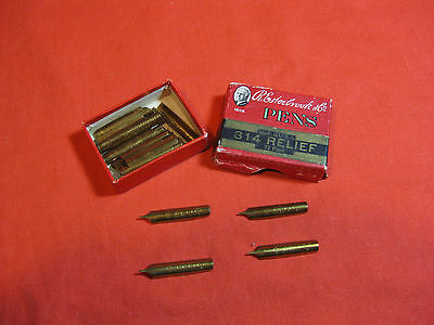 Vintage Collectables Pen Nibs By R.Eesterbrook, 36 Nibs Reliesf 314.  U.S.A.