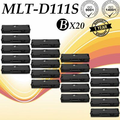 20PK MLTD111S MLT-D111S Toner Cartridge For Samsung 111S Xpress M2070FW M2020W
