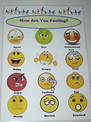 Emotions / Feelings -A4 Poster - Special Needs/ Communication/Display/Expression