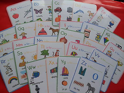 Alphabet Flash Cards-Multiple Pictures On Each Card-Teaching Resource -Ks1