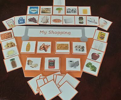 My Shopping Game- Take Shopping To Keep Child Interested & Well  Behaved Autism