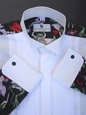 Frederick Theak Formal Frog Shirt (15.5)