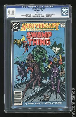 Swamp Thing (1982 2nd Series) #50 CGC 9.8 1265280001