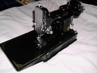 RARE40 VTG SINGER Featherweight Sewing Machine No40 With Case Awesome 1935 Singer Sewing Machine