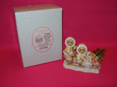 Cherished Teddies MICHEL & KITTY Sharing the Season of Joy Together