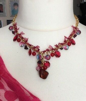Beautiful Necklace Catherine Bijoux Signed