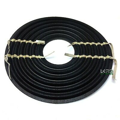"""8.3"""" x 2.5"""" Nomex Flat Linear Roll Spider With Sewn Flat Leads Speaker Subwoofer"""
