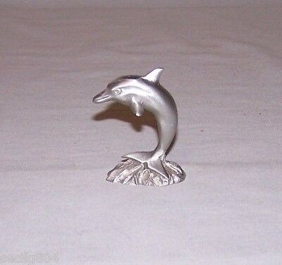 Pewter  Dolphin  By Spoontiques 02047