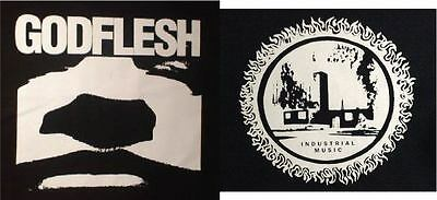 GODFLESH INDUSTRIAL MUSIC   big back patches
