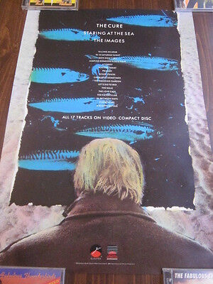 The Cure 1986 Staring At The Sea /The Images VHS Promo Poster Robert Smith MTV