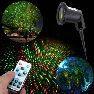 Outdoor LED Moving R&G Laser Projector Christmas Light Stage Light Waterproof