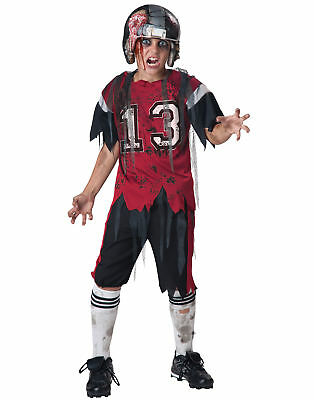 Dead Zone Zombie Football Player Boys Horror Halloween Costume