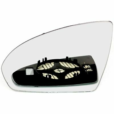 Left side for Smart Fortwo 2007-2012 heated wing door mirror glass